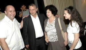 Joško Svaguša i Nevenka Bečić s kćerkom Daliborkom