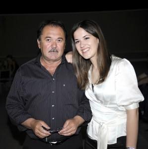 Filip Radoš s kćerkom Luciom