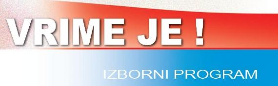 Izborni program Željka Keruma