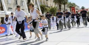Početak maratona na Rivi