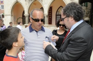 Željko se družio s građanima