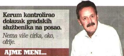 Ajme meni - Ćićo Senjanović